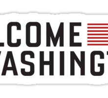 "House of Cards - ""Welcome to Washington"" Sticker"