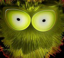 Green Splotchy by qrabat