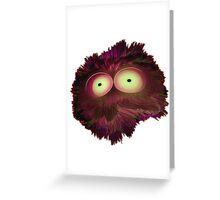 Red Splotchy Greeting Card