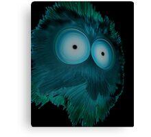 The Blue Splotchy Canvas Print