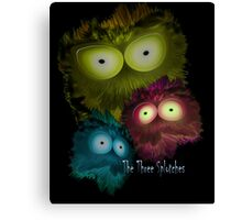 The Three Splotches Canvas Print