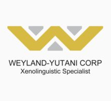 Weyland-Yutani Linguist by queencreative
