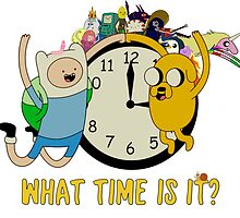Adventure Time- what time is it? by Charlie Smith
