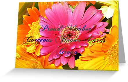 Group Banner  - Gorgeous Flower Cards by EdsMum