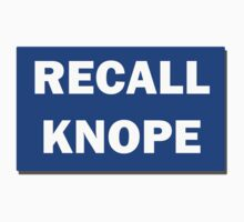 Recall Knope - Blue Sign by HighDesign