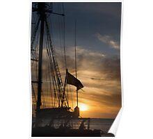 Leeuwin II Sunset - 3 Poster