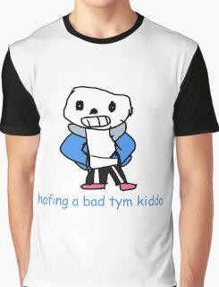 Sans the Skeleton Graphic T-Shirt