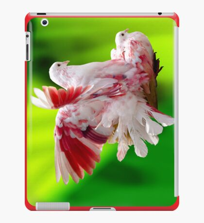 Colourful Pigeons iPad Case/Skin