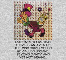 Mad Hatter - LSD Blotter Art - LSD Quote by tshirtsfunny