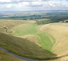 The Manger White Horse Hill Uffington by Jim Hellier