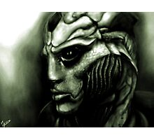 Thane Krios: Mass Effect Fan Art Photographic Print