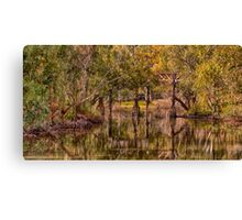 Gundagai Reflections- The HDR Experience Canvas Print