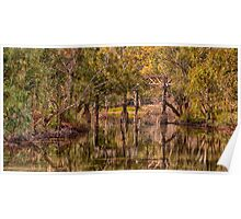 Gundagai Reflections- The HDR Experience Poster