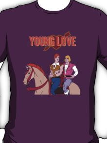 Young Love (He-Man and Bow) T-Shirt