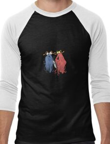 Yip Yip Mobile Phone Men's Baseball ¾ T-Shirt