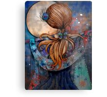Dancing with the Moon Metal Print