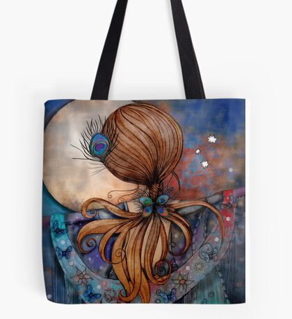 Dancing with the Moon Tote Bag
