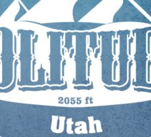 Solitude Utah Ski Resort Sticker