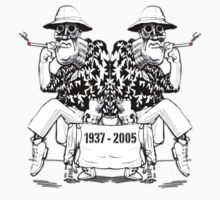 Hunter S Thompson Tribute Shirt Design 1 by tshirtsfunny