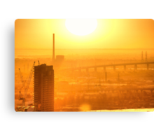 Hot in the City Canvas Print