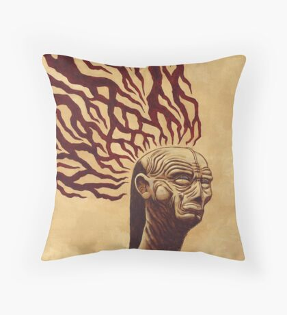 Don't Let The Dark Ones In Throw Pillow