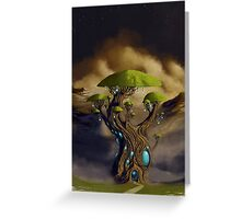 The Great Portal Tree Greeting Card