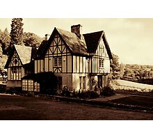 Chedworth House Photographic Print