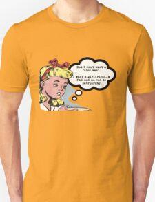 "I don't want a ""nice man"" - feminist tee T-Shirt"