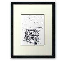 LINE camera 11 : ACTIONSAMPLER FLASH by Lomography Camera Framed Print