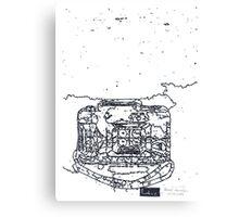 LINE camera 11 : ACTIONSAMPLER FLASH by Lomography Camera Canvas Print