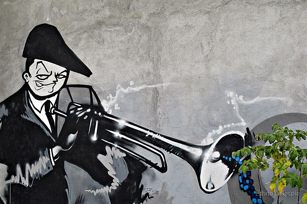 The Trumpet Player  by Ethna Gillespie