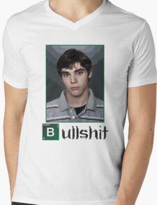 This is Bullshit. White Version. Mens V-Neck T-Shirt