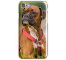 Boxer pose iPhone Case/Skin
