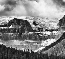 Stutfield Glacier by Charles Kosina