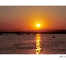 sunset by kippis