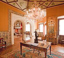 Sala dos Trevos. Palácio dos Condes Castro Guimarães by terezadelpilar~ art & architecture