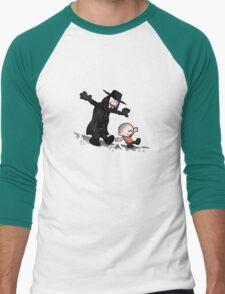 evey and V Men's Baseball ¾ T-Shirt