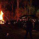 Bonfire in the Bush by Mark Batten-O'Donohoe