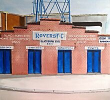 Blackburn Rovers - Ewood Park by sidfox