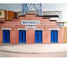 Blackburn Rovers - Ewood Park Photographic Print