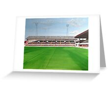 Stoke City - Victoria Ground Greeting Card