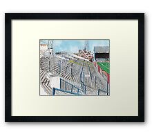 Reading - Elm Park Framed Print