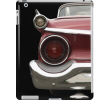 Back (red) iPad Case/Skin