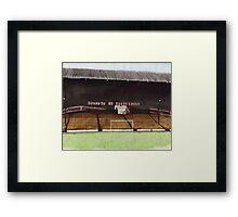 Sunderland - Roker Park Framed Print