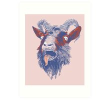 Rock Goat Art Print