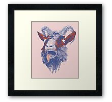 Rock Goat Framed Print