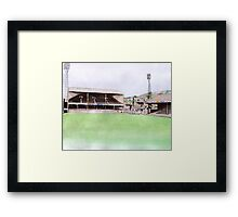 Swansea City - Vetch Field Framed Print