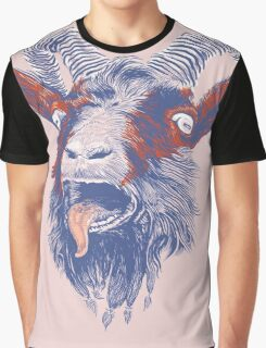Rock Goat Graphic T-Shirt