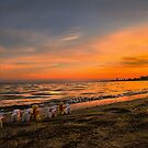 Sunrise dip at eastern beach by bekyimage