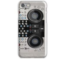 DJ console iPhone Case/Skin